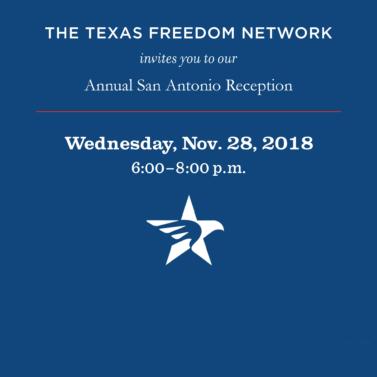 Annual San Antonio Reception